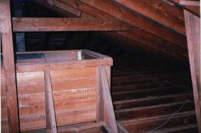 Freshwater Storage Container, Attic