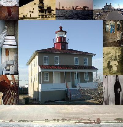 Point Lookout Lighthouse Collage